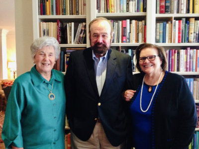 L-R, Joyce Gibson Roach, James Ward Lee, and Frances B. Vick in 2015